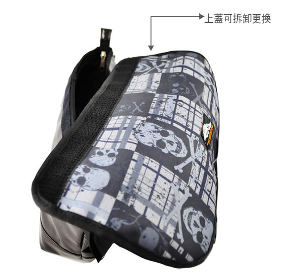 【THE89 】一包兩用創意翻面952-3503斜背包側肩包(L)