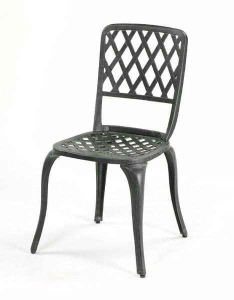 【南洋風休閒傢俱】戶外休閒桌椅系列- 編織休閒餐椅   戶外鋁合金餐椅 (#130C)