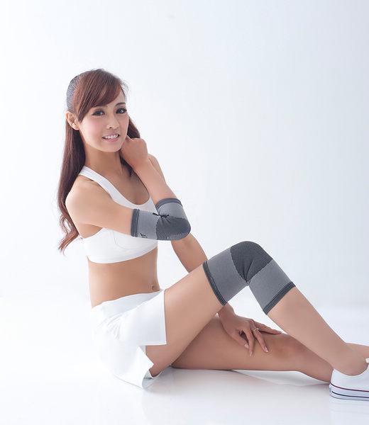 【皇家竹炭】竹炭彈性護肘帶/灰(含炭)(單入)