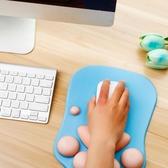 手托 可愛貓爪滑鼠墊護腕墊子韓國創意辦公家用膠墊動漫男女生萌物個性滑鼠墊電腦 3c公社