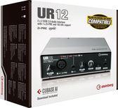 【金聲樂器廣場】 全新  Steinberg UR12 / UR 12 錄音介面