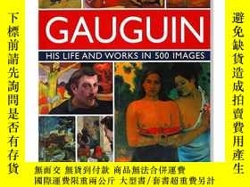 二手書博民逛書店Gauguin:罕見His Life & Works in 50