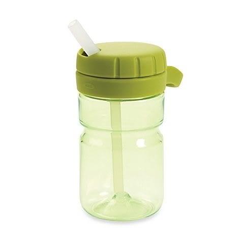 美國OXO- 扭蓋吸管水壺12oz-綠