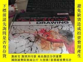 二手書博民逛書店Expressive罕見Drawing: A Practical