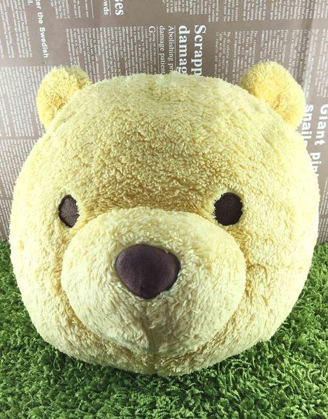 【震撼精品百貨】Winnie the Pooh 小熊維尼~造型抱枕~頭