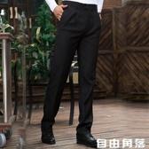 新穎鼎恒四季款長褲 黑色男士西褲 職業裝男褲工作褲 自由角落