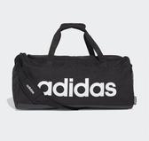 Adidas LINEAR DUFFEL BAG 黑色運動手提袋-NO.FL3651
