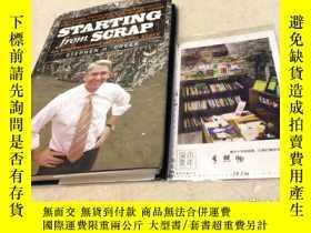 二手書博民逛書店英文原版罕見starting from scrap : an e