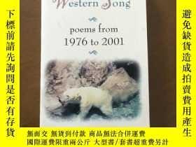 二手書博民逛書店AMERICAN罕見WESTERN SONG(英文原版)Y265