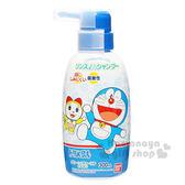 〔小禮堂〕哆啦A夢 日製兒童洗髮精《藍.眨眼.張嘴》容量300ml 4549660-11526