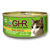 GHR貓用羊肉鴨肉配方主食罐100g