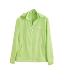 KAPPA義大利時尚女平織慢跑風衣(可拆帽 )-嫩芽綠