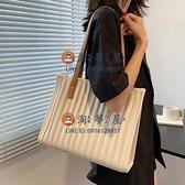 大容量包包女夏夏季高級感手提單肩包側背包大包百搭通勤托特包【淘夢屋】