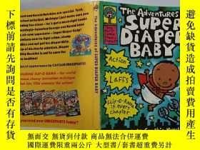 二手書博民逛書店The罕見Adventures of SUPER DIAPER BABY:超級尿布寶寶歷險記Y200392