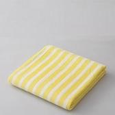 【預購】CB JAPAN 泡泡糖 線條系列超細纖維3倍吸水浴巾│兩色天鵝黃