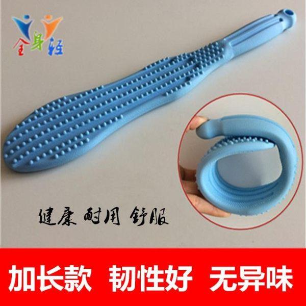 拍痧板按摩錘子敲背捶經絡拍打棒硅膠養生健康拍老人錘腿器按摩棒