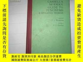 二手書博民逛書店CASSELL   S罕見MODERN GUIDE TO SYNONYMS&RELATED WORDY119