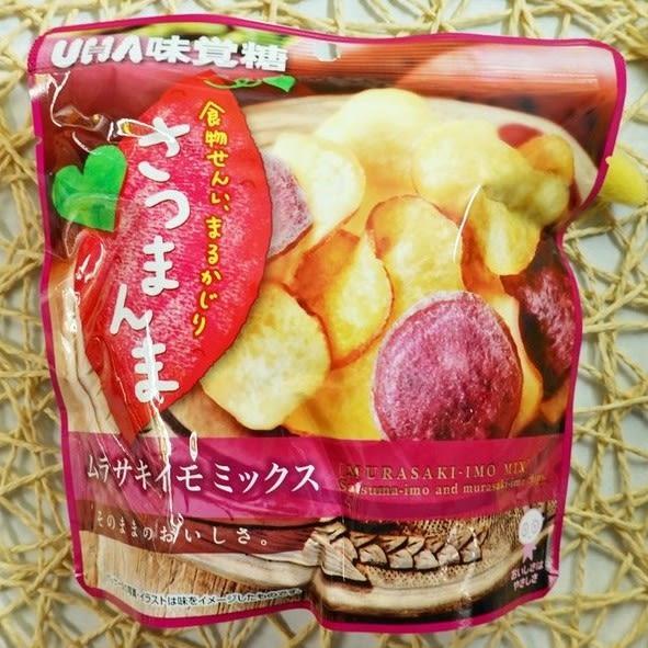 味覺綜合黃薯片 55g【4970694256044】(日本零食)
