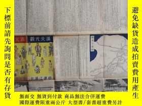 二手書博民逛書店滿北觀光罕見哈爾濱鐵道局,北滿江運局 1939年Y27648 哈