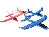 泡沫飛機模型手拋滑翔機回旋飛機玩具 cf