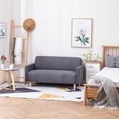 北歐風布藝沙發小戶型單身公寓女服裝店鋪臥室雙人小沙發租房網紅 聖誕節免運