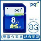 pqi 8G SDHC class4 記憶卡 SD SD記憶卡