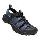 [好也戶外] KEEN NEWPORT H2男款護趾涼鞋 藍-黑 No.1018940