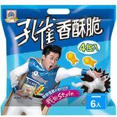孔雀香魚香酥脆組合包208g*6【愛買】