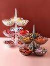 乾果盤 干果盤客廳創意家用茶幾水果零食糖果瓜子堅果網紅現代輕奢北歐風【快速出貨八折鉅惠】
