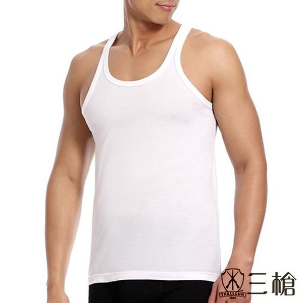 三槍牌 時尚精典金絲棉型男窄肩背心2件組