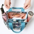 便當袋上班族外出帶飯裝飯盒包保溫便當包時尚手提袋子帆布手拎媽咪包包【凱斯盾】