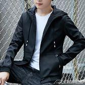 男士外套秋新款韓版夾克男外衣服潮流帥氣男裝薄款棒球服  潮流前線
