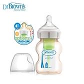 Dr. Brown's 布朗博士 防脹氣OPTIONS+PESU兩用奶瓶小150ml-一入裝[衛立兒生活館]