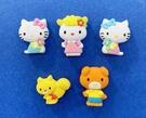 【震撼精品百貨】Hello Kitty 凱蒂貓~三麗鷗KITTY造型迷你磁鐵(5入)#69435