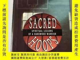 二手書博民逛書店Sacred罕見Hoops Spiritual Lessons