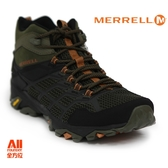 【Merrell】男款戶外鞋 MOAB FST 2 MID GTX 多功能系列 -咖啡棕(77489)【全方位運動戶外館】
