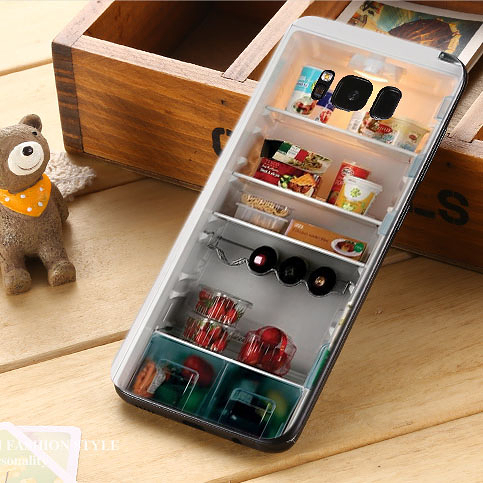 三星 Samsung Galaxy S8 S8+ plus G950FD G955FD 手機殼 軟殼 保護套 冷凍冰箱