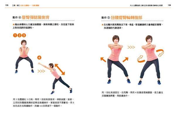 強肌力教主彭淑美教你練核心肌群:40~80歲都需要的「好肌力」 讓你身手靈活不跌倒..
