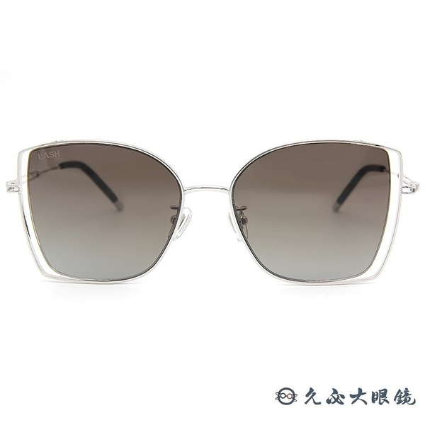LASH 墨鏡 FLOAT MS19  (銀) 蝶形 韓國 太陽眼鏡 久必大眼鏡
