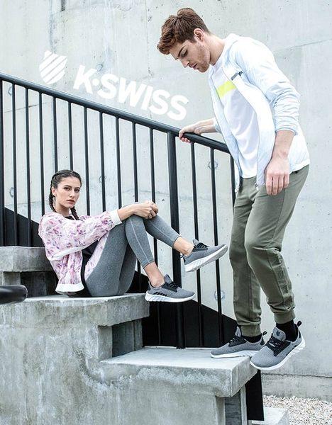 K-SWISS Lundahl WT S休閒運動鞋-女-白/粉紅