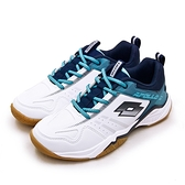 LIKA夢 LOTTO 專業透氣羽球鞋 APOLLO 2 阿波羅系列 白藍 2596 女