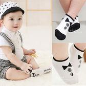 黑白小領結兒童止滑短襪 童襪 止滑襪 防滑襪 棉襪