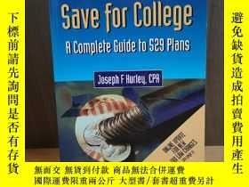 二手書博民逛書店The罕見Best Way to Save for Colleg