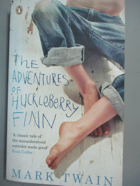 【書寶二手書T1/原文小說_NOJ】The Adventures of Huckleberry Finn_Mark Twain