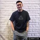 夏季短袖T恤男2020港風潮牌簡約沙灘體恤全棉圓領寬松半袖上【全館免運】