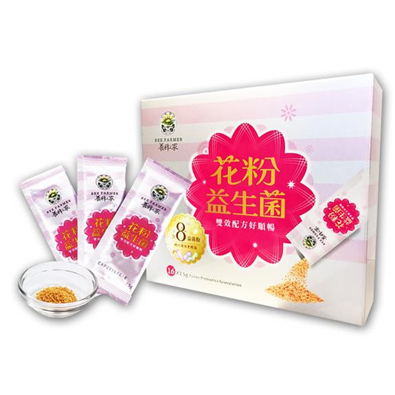花粉益生菌16包入(蛋糕/蜂蜜/花粉/蜂王乳/蜂膠/蜂產品專賣)【養蜂人家】