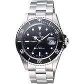 Olym Pianus 奧柏 陶瓷錶圈日期手錶-黑/43mm 899831GS