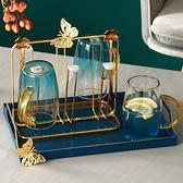 杯架子置物架收纳创意玻璃杯架子沥水杯架收纳架杯托盘轻奢杯架