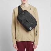 【現貨】adidas Funny Bum Bag Large 黑 白 男女款 大容量 背包 三葉草 側背包 腰包 DV0210