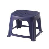 KEYWAY 花園止滑椅(高25CM) 藍色款 RC6651 33.2x36.4x2